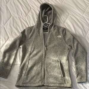 SOFT The North Face Fleece with hood